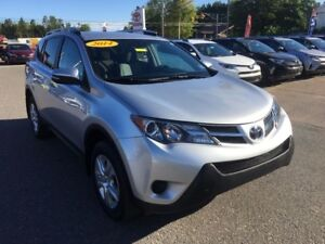 2014 Toyota RAV4 LE AWD ONLY $173 BIWEEKLY WITH $0 DOWN!