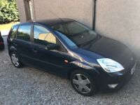 Ford Fiesta, Blue, 1.4L engine, 54 Plate