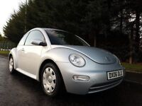 APRIL2006 VOLKSWAGEN BETTLE 1.6 PETROL EXCELLENT CONDITION LOOKS AND DRIVES FIRST CLASS MOT JULY2018