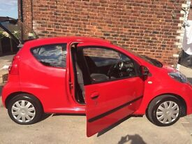 Peugeot 107 In Red 2007