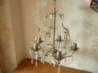 2 chandeliers for sale £25 each 1 chandelier £10 see details