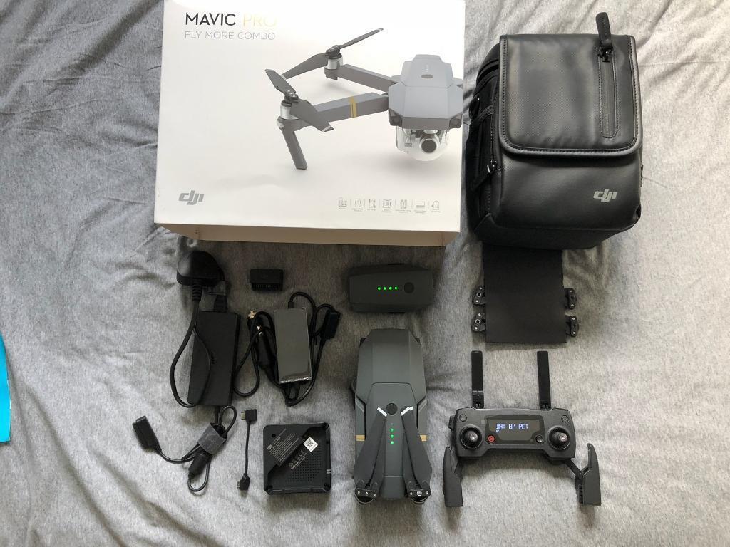 Dji Mavic Pro Fly More Combo 4k Camera Drone In Brislington