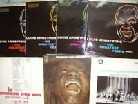 7 Louis Armstrong LPs