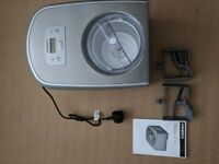Ice Cream/Gelato Maker For Sale (Cuisinart ICE 100BCU) Used twice. - Wandsworth SW18 Pickup