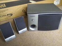 Original Yamaha Tyros 5 TRS-MS05 Speaker system- NEW