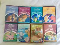 DISNEY -Read to me cds with books