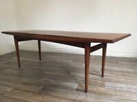 Vintage Retro Mid Century Teak Gordon Russell Coffee Table
