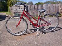 Lady's hybrid cycle