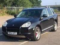 2004 PORSCHE CAYENNE TURBO 4.5 V8 450BHP FULL TECHART BODYKIT FSH HPI CLEAR CHEAPEST TURBO PX