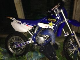 Motorbike yz85 got to get rid no room for it