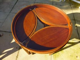 Retro 60s 70s G Plan Nathan Coffee Table and 3 small tables
