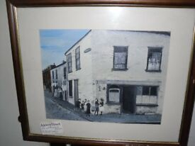Abbey Street Bangor. Original oil painting on canvas. Offers considered.