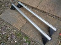 Vauxhall Locking Roof Bars Thule Silver Aero Bars