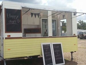 Mobile  Food Van Or Bar for weddings, parties, events & markets Wavell Heights Brisbane North East Preview