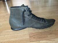 Emporio Armani Leather Boots UK SIZE 11