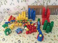 Large selection of lego Duplo prima bricks