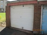 Lockup Garage to Let- Forrester Park Loan, Broomhouse