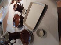 pottery dinnerware Stig Lindberg Coq