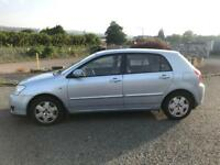 2005 Toyota Corolla 1.6 VVT-i T-Spirit Sunroof! + Not Civic Audi VW