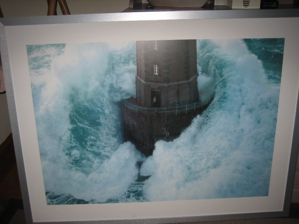 Ikea Framed Lighthouse Print In Redhill Surrey Gumtree