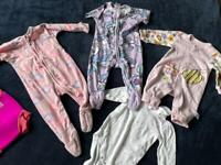 Bundle of baby onesies / body suits 3-6months