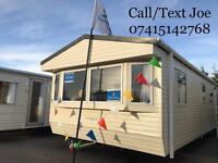 Static caravans for sale Southview Skegness not Haven central heated 12 ft wide