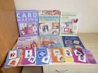 Card Making/Craft Books and CD's