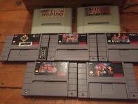 Super Nintendo (SNES) NTSC games