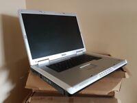 Dell Inspiron 17 Inch laptop, Intel Core Centrino, 2GB RAM, Windows 7, DVDRW, wifi, Working battery