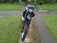 yamaha wr125r learner legal ,one owner since new,9 months old full service history