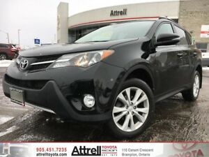 2015 Toyota RAV4 AWD Limited Package. Smart Key, Memory Seat, Na