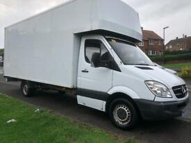 Mercedes 311 LUTON + 18ft box. The biggest about. One of a kind 3.5 ton. Part ex taken.