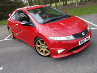 HONDA CIVIC TYPE R GT FN2 MILANO RED 2.0 I-VTEC 3 OWNERS 200 BHP BUCKET SEATS RED CARPETS INTERIOR!!