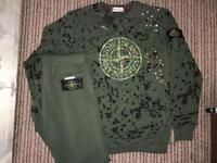 Men's Stone Island 30th Anv tracksuit size large