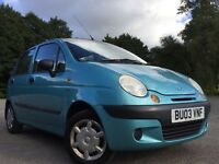 Daewoo Matiz 0.8 SE 5dr ONLY 1 FORMER KEEPER FROM NEW ******