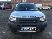 £1100 2002 (52 reg),Land Rover Freelander 2.5 V6 ES 5dr