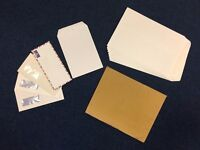 Brown gusset envelope + White envelopes (size A4, A5 and letters)_£2 for ALL