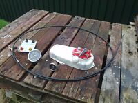 Boat Morse control with cable in good working order