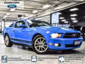 2010 Ford Mustang V6, Bluetooth, Low Km, Trade-in