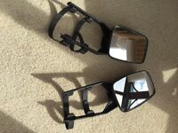 Raydyoy + unbranded caravan and trailer towing mirrors