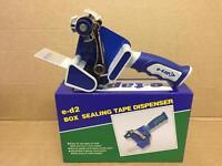 ed-2 tape dispenser plus one roll of 48mm x 150m buff/clear