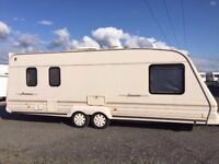 Bailey Senator Montana twin axle 5 Berth with full awning and tall annex. yr 2000
