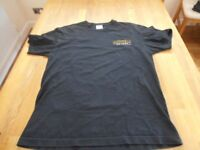 MENS BLACK T.SHIRT 7.62 AIRBORNE RAIDERS..