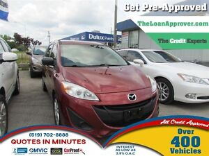 2012 Mazda MAZDA5 GS  * LOANS FOR ALL CREDIT - GET PRE-APPROVED