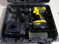 DEWALT DC735 14V Cordless Drill + charger & battery all very strong