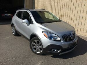 2014 Buick Encore LEATHER**BCK UP CAM**NAV**CHROME WHEELS