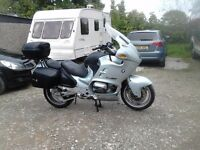 BMW R1100RT 1996 sports tourer very clean for year and lots of history