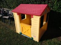 Little Tykes play house £50 - excellent condition. Just been cleaned and hosed, ready to go.