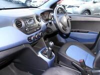 Hyundai i10 SE (blue) 2016-10-31