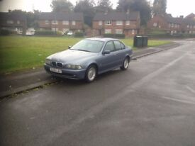 BMW 525 SE E39 2.5 petrol,lpg manual